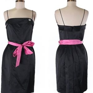 NWT $365 Lilly Pulitzer Black Cocktail Dress 6